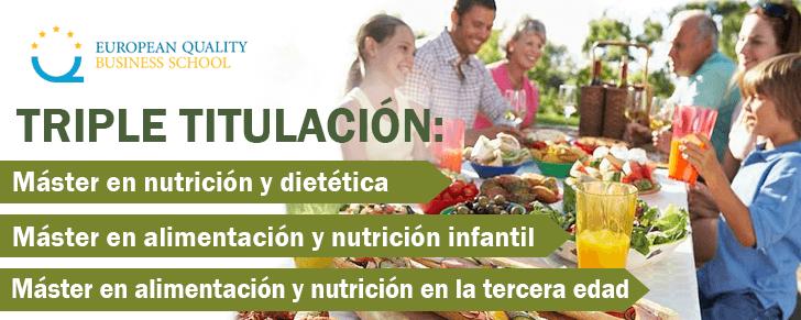 triple master nutrición